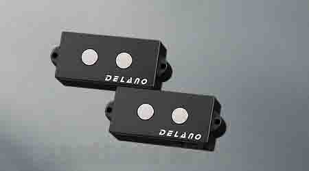 Delano Pickup PC-FE pickup series P-Bass type . 9,5 mm ferrite pole piece PMVC 4 FE / M2 (ベース用ピックアップ)(送料無料)