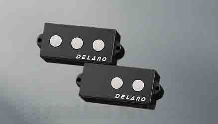 Delano Pickup PC-FE pickup series P-Bass type . 9,5 mm ferrite pole piece PMVC 5 FE / M2 (ベース用ピックアップ)(送料無料)