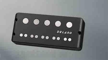 Delano Pickup The HYBRID The HYBRID 5-strings EB-Type (ベース用ピックアップ)(送料無料)