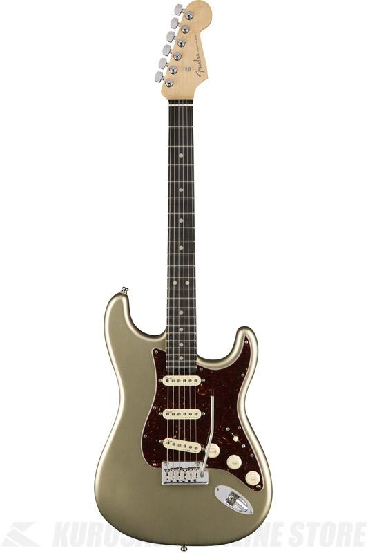 Fender American Elite Stratocaster , Ebony Fingerboard, Champagne (エレキギター/ストラトキャスター)(送料無料)