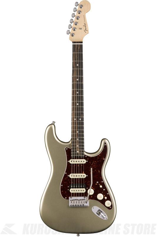 Fender American Elite Stratocaster HSS ShawBucker , Ebony Fingerboard, Champagne (エレキギター/ストラトキャスター)(送料無料)