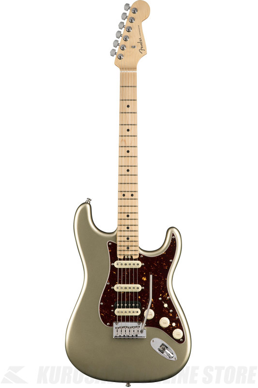 Fender American Elite Stratocaster HSS ShawBucker , Maple Fingerboard, Champagne (エレキギター/ストラトキャスター)(送料無料)(ご予約受付中)