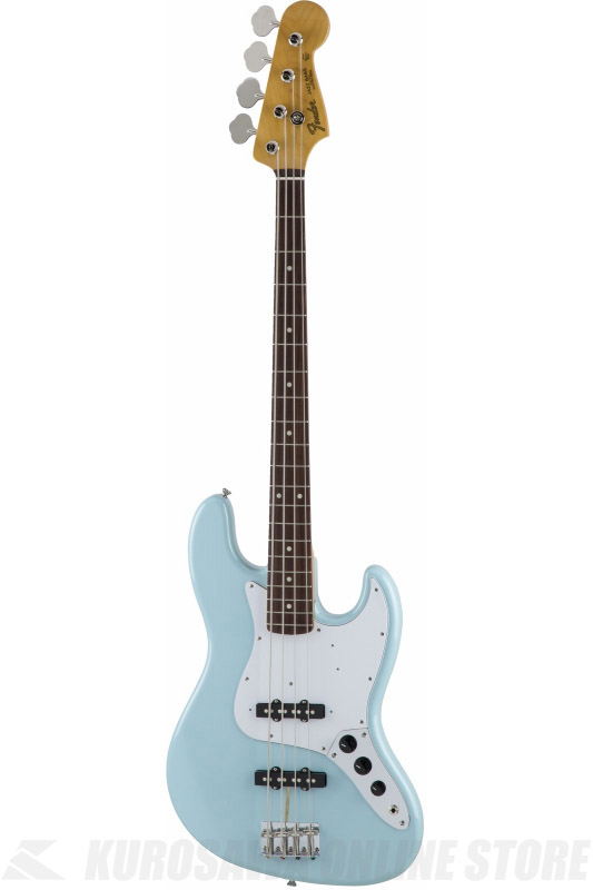 Fender Made in Japan Traditional MIJ '60s Jazz Bass , Rosewood, Daphne Blue [5350060304] (ベース/ジャズベース)(送料無料)