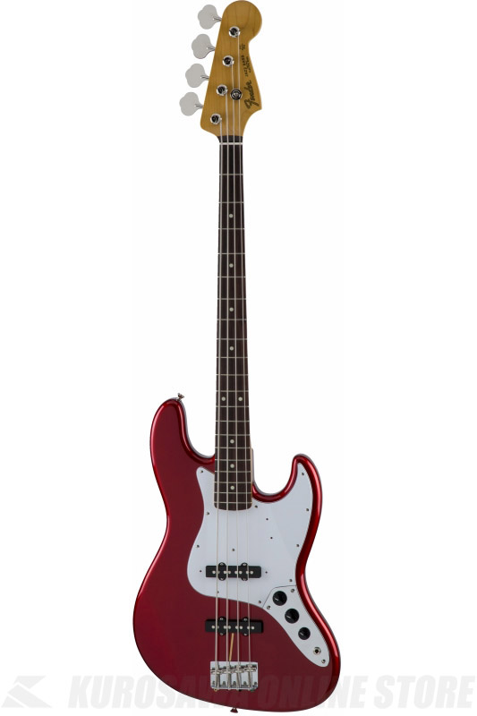 Fender Made in Japan Traditional MIJ '60s Jazz Bass , Rosewood, Candy Apple Red [5350060309] (ベース/ジャズベース)(送料無料)