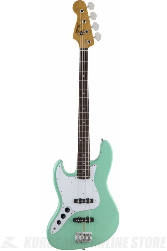 Fender Made in Japan Traditional MIJ '60s Jazz Bass , Left-Hand, Rosewood, Surf Green [5350160357] (ベース/ジャズベース)(送料無料)