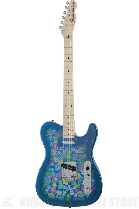 Fender Made in Japan Traditional MIJ '69 Telecaster , Maple, Blue Flower [5350692350] (エレキギター/テレキャスター)(送料無料)