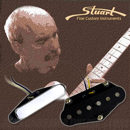 Stuart Fine Custom Instruments 60's Staggered Telecaster SET (ギター用ピックアップ)(送料無料)