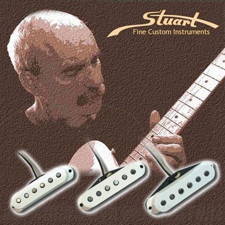 Stuart Fine Custom Instruments Vintage 60's Stratocaster SET (ギター用ピックアップ)(送料無料)