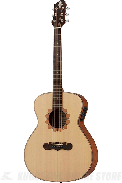 Zemaitis GRAND AUDITORIUM CAG-100FW-E-LH Left-hand (アコースティックギター/レフティ/エレアコ)(送料無料)