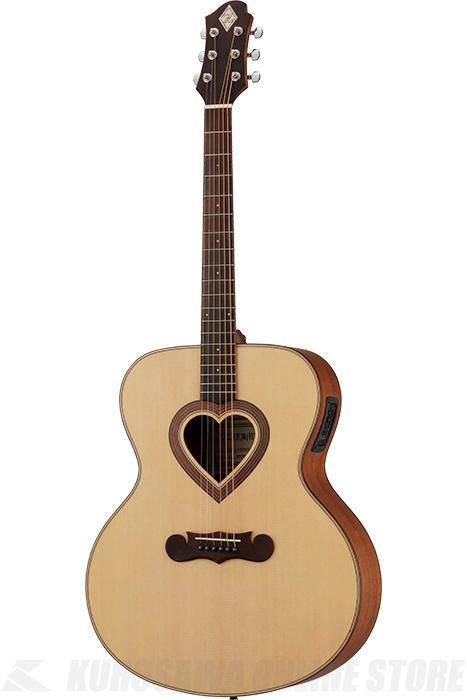 Zemaitis JUMBO CAJ-100HW-E-LH Left-hand (アコースティックギター/レフティ/エレアコ)(送料無料)