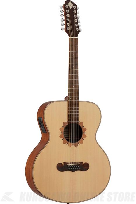 Zemaitis JUMBO CAJ-100FW-12-E (アコースティックギター/12弦/エレアコ)(送料無料)