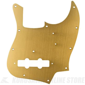 Fender Made In Japan Classic Jazz Bass 11-Hole 1-Ply Gold Anodized Pickguard Made in Japan Model (ピックガード/ジャズベース用)(送料無料)