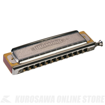 HOHNER Super Chromonica 270 270/48 C-tenor調 (12穴ハーモニカ)(送料無料)