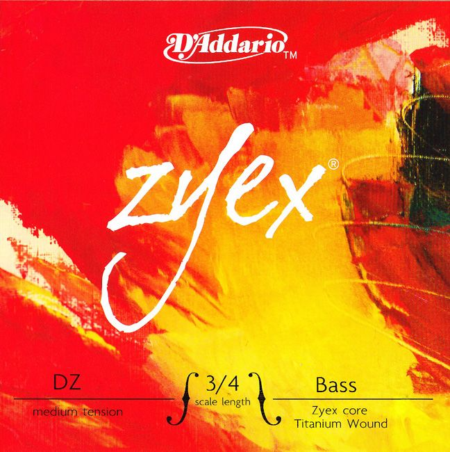 D'Addario ''Zyex (MIDIUM) BASS''【SET】【新品】【日本総本店在庫品】