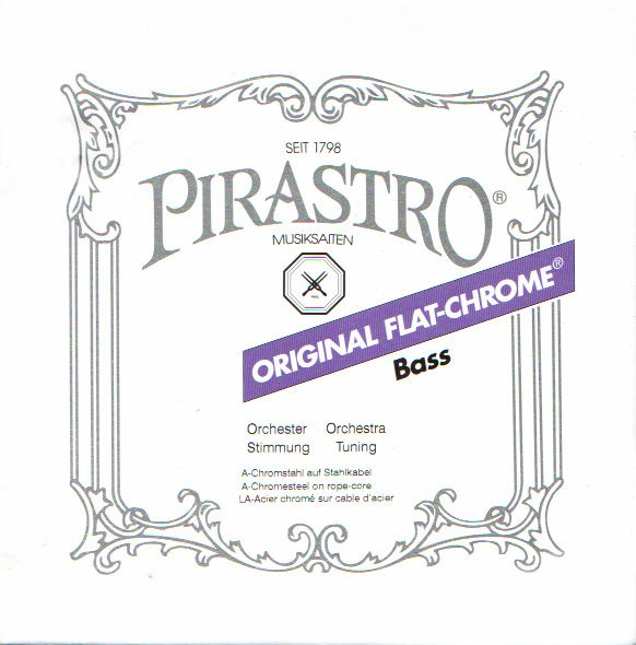Pirastro ''ORIGINAL FLAT-CHROME''【H3B/Solo】【新品】【日本総本店在庫品】