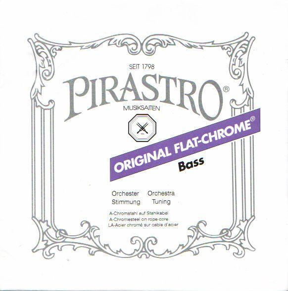 Pirastro ''ORIGINAL FLAT-CHROME''【3A】【新品】【日本総本店在庫品】