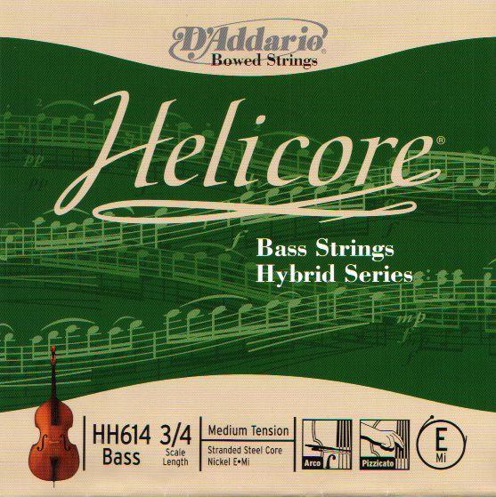 D'Addario ''Helicore Bass Strings Hybrid Series''【SET】【新品】【日本総本店在庫品】