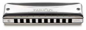 SUZUKI 鈴木楽器 10穴ハーモニカ ファビュラス10ホールズ F-20J