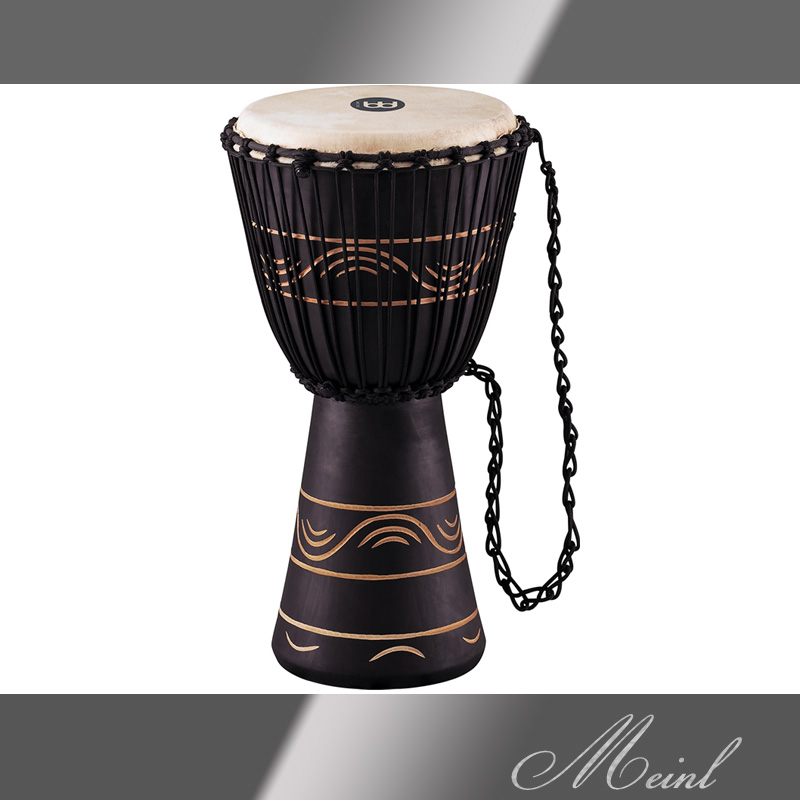 Meinl マイネル Original African Style Rope Tuned Wood Djembe 10