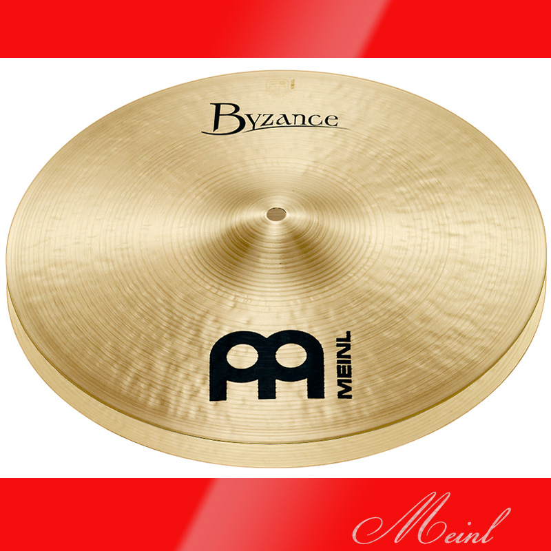 Meinl マイネル Byzance Traditional Series Hihat 14