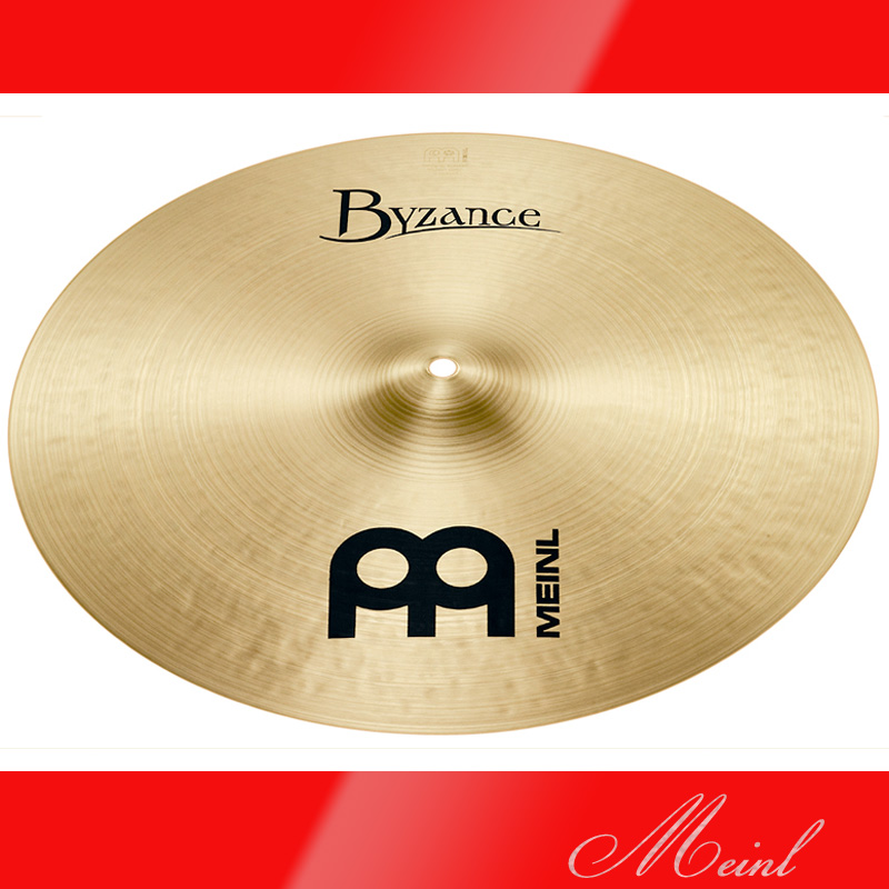 Meinl マイネル Byzance Traditional Series Crash Cymbal 16
