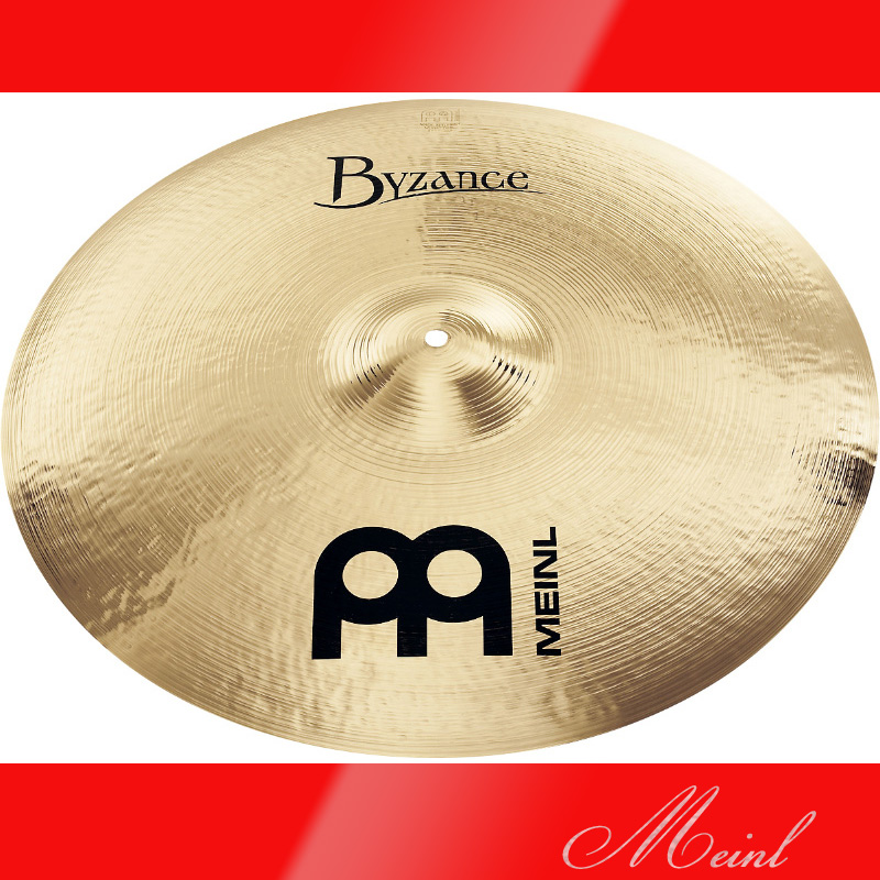 Meinl マイネル Byzance Brilliant Series Ride Cymbal 20