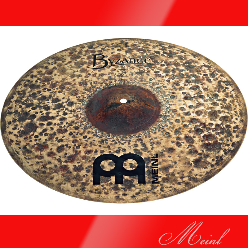 Meinl マイネル Byzance Dark Series Raw Bell Ride Cymbal 20