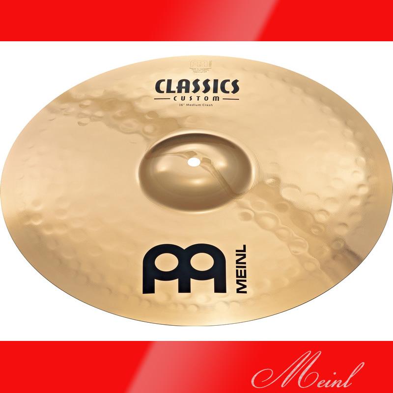 Meinl マイネル CLASSICS CUSTOM Crash Cymbal 16