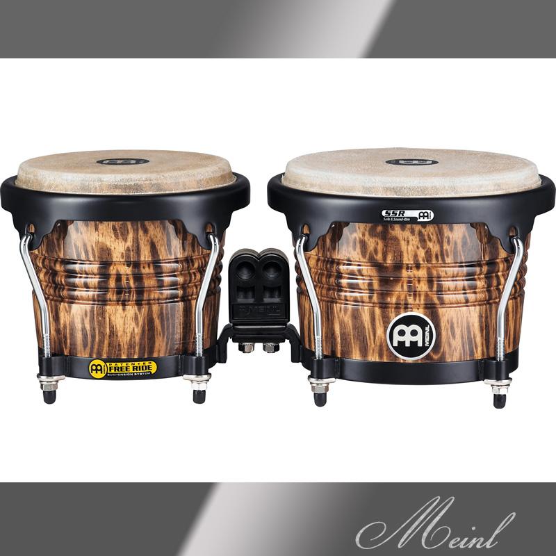 Meinl マイネル Free Ride Series Wood Bongo 6 3/4