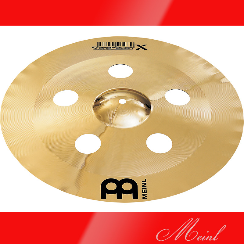 Meinl マイネル generation X China Crash Cymbal 17