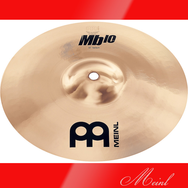 Meinl マイネル Mb10 Splash Cymbal 10