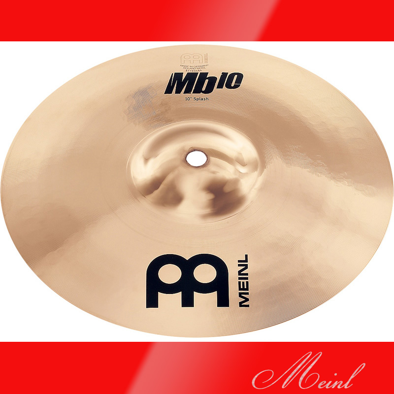 Meinl マイネル Mb10 Splash Cymbal 12