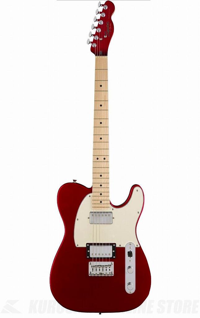 Squier by Fender Contemporary Telecaster HH-Dark Metallic Red/M-【送料無料】(ご予約受付中)