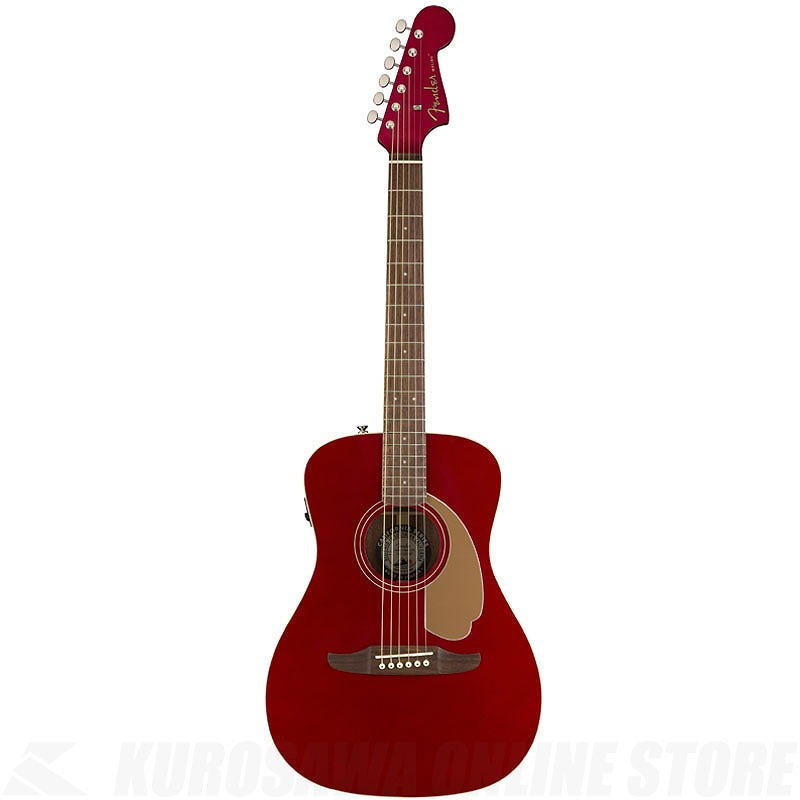 Fender Acoustics Malibu Player (Candy Apple Red)《アコースティックギター》【送料無料】