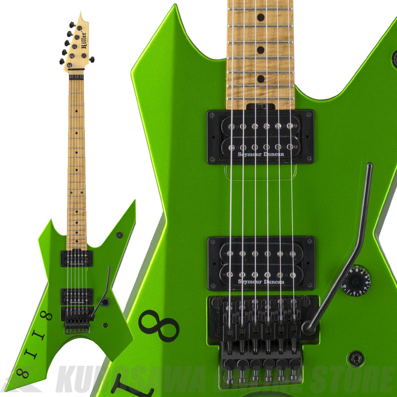 Killer KG-Prime Signature 8118-Viper Green-【送料無料】(受注生産品・ご予約受付中)