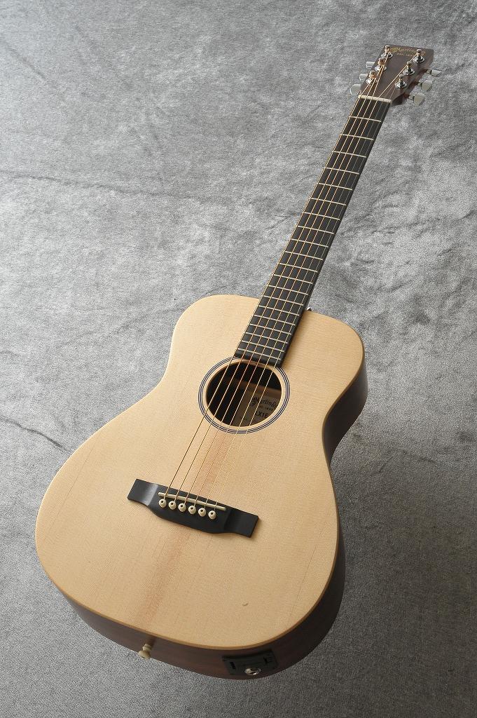 Martin LX-1E (アコースティックギター)【送料無料】【スプルーストップ】【HPL】【P.U付き】