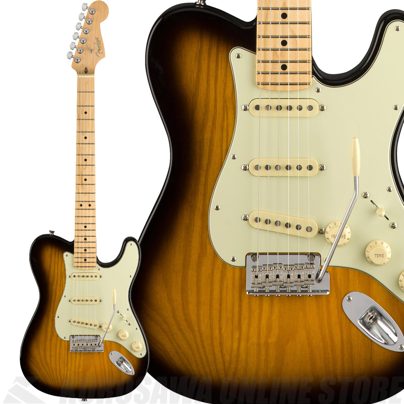 Fender PARALLEL UNIVERSE 2018 Limited Edition Strat-Tele Hybrid Maple Fingerboard, 2-CS《エレキギター》【送料無料】