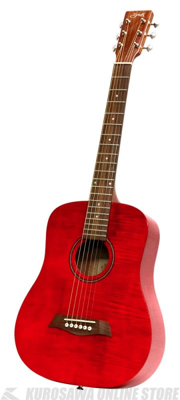 S.Yairi YM-02/RD-FM-グロスフィニッシュ限定モデル-《コンパクト・アコースティックギター》(送料無料)【新品】