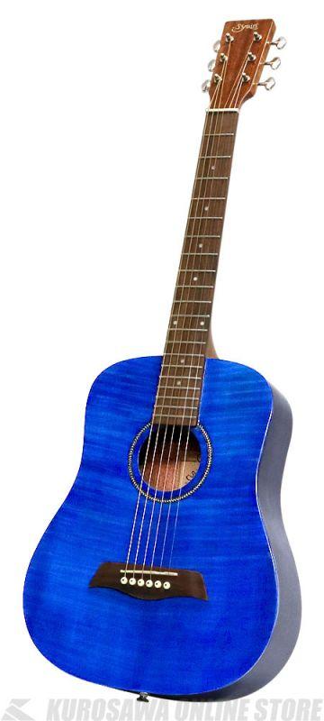 S.Yairi YM-02/BL-FM-グロスフィニッシュ限定モデル-《コンパクト・アコースティックギター》(送料無料)【新品】