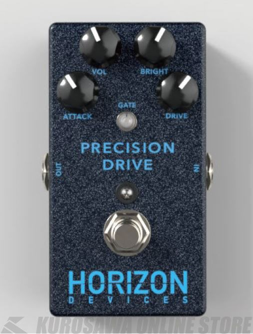 DRIVE(エフェクター/オーバードライブ)(送料無料)【12月7日発売・ご予約受付中】【新品】 HORIZON DEVICES/PRECISION
