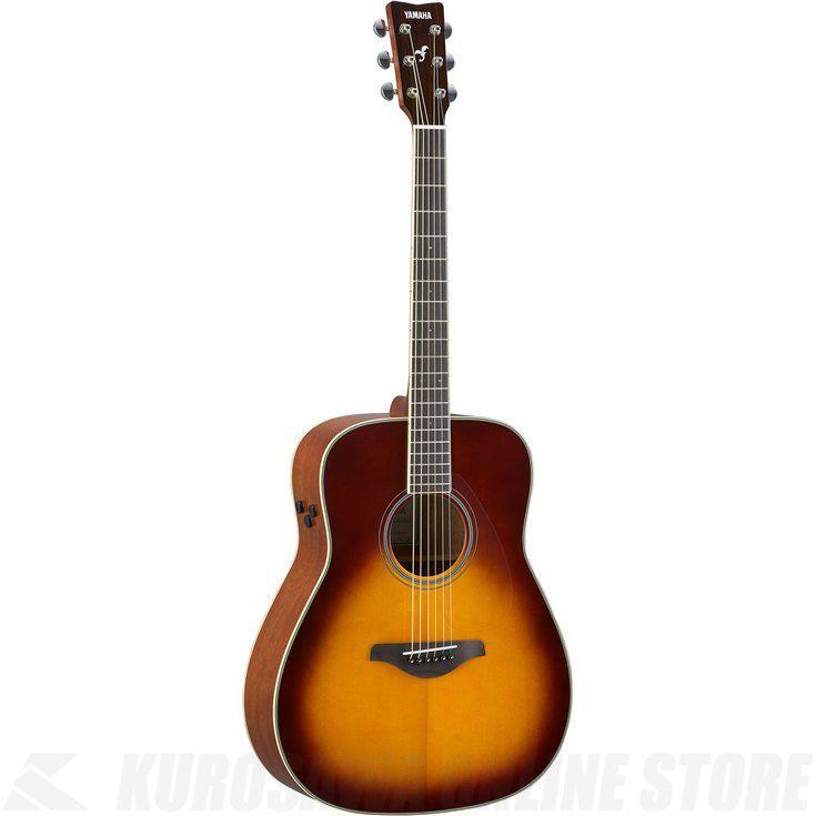 Yamaha FG-TA/BS(ブラウンサンバースト)(トランスアコースティックギター)(送料無料)【新品】