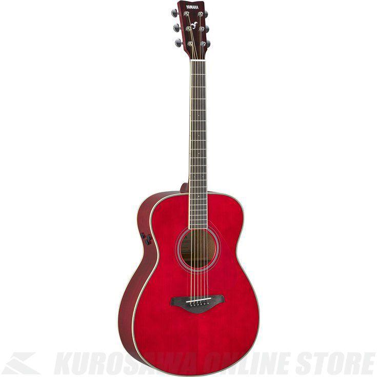 Yamaha FS-TA/RR(ルビーレッド)(トランスアコースティックギター)(送料無料)【新品】
