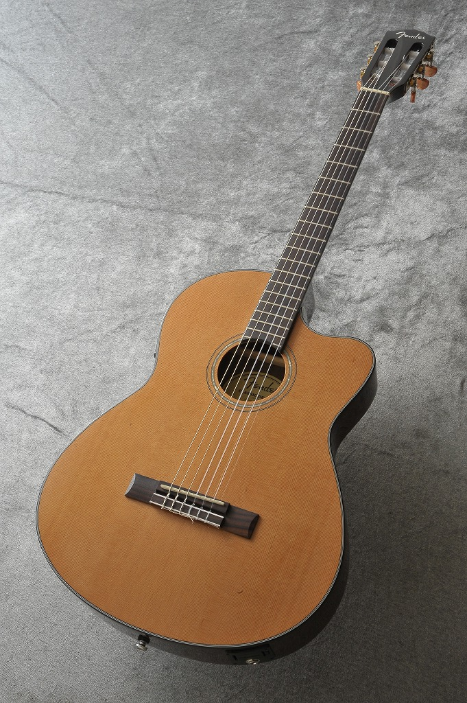 Fender CN-140SCE NAT WC Natural (クラシックギター/エレガット) (送料無料)(ご予約受付中)