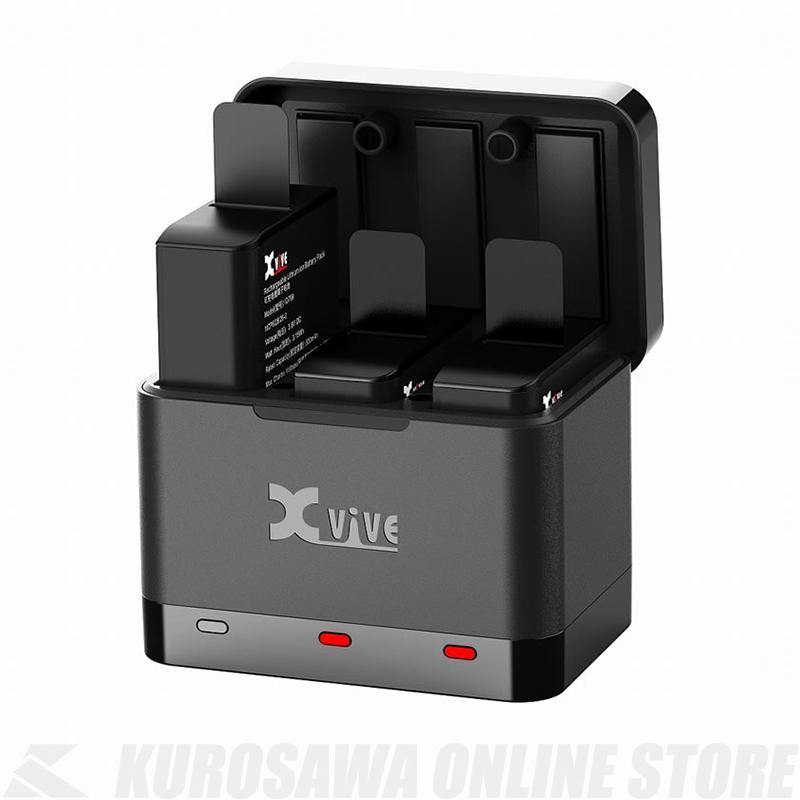 バッテリーキット 《エックスバイブ》 信憑 Xvive U5Cシステム用バッテリーキット 送料無料 代引き不可
