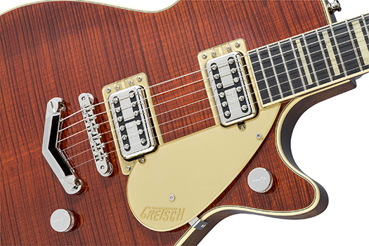 GretschG6228FMPlayersEditionJetBTwithV-StoptailBourbonStain【送料無料】
