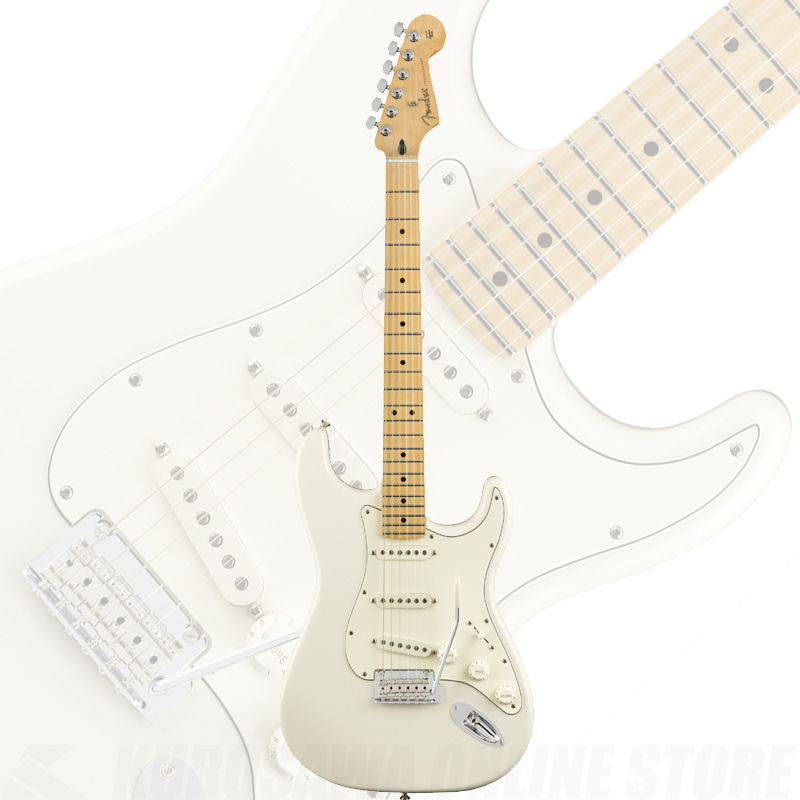 Fender Player Series Stratocaster Polar White/Maple Fingerborad【送料無料】