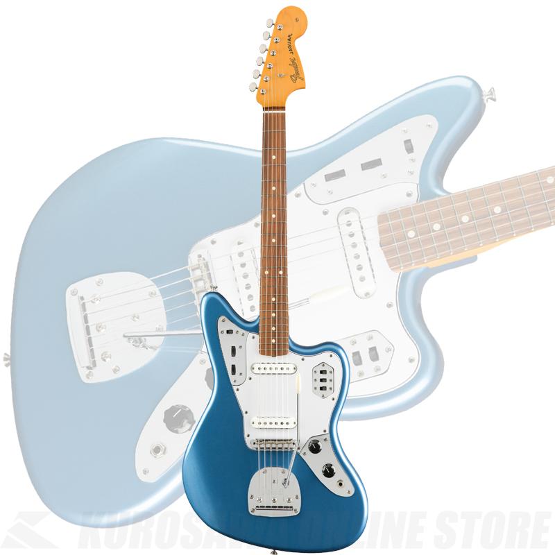 Fender Mexico Classic Series '60s Jaguar Lacquer Pau Ferro Fingerboard, Lake Placid Blue(ご予約受付中)