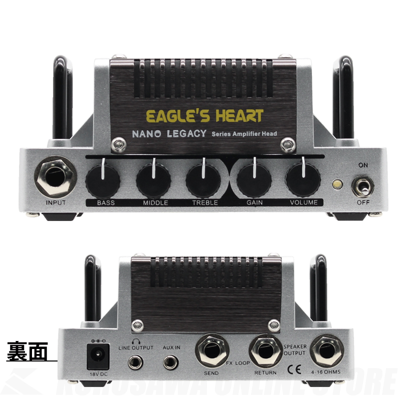 HOTONE Eagle's Heart ENGL Savage 120 Type《アンプヘッド》【送料無料】