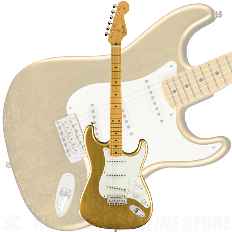 Fender Custom Shop Jimmie Vaughan Stratocaster, Aged Aztec Gold【2019年5月入荷予定・初回入荷分ご予約受付中】