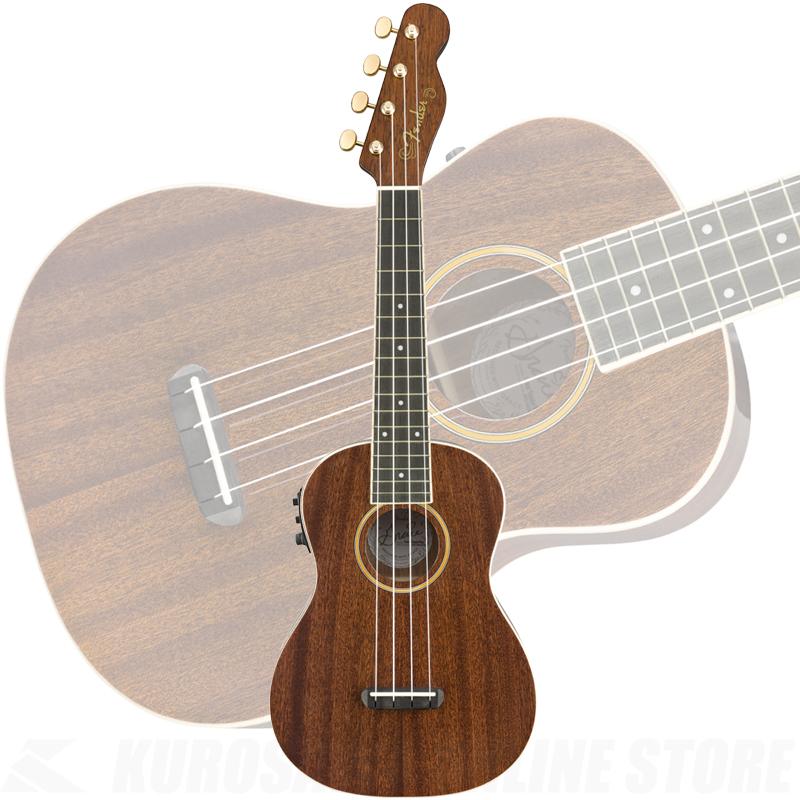 Fender Grace VanderWaal Signature Uke, Walnut Fingerboard, Natural【送料無料】(ご予約受付中)